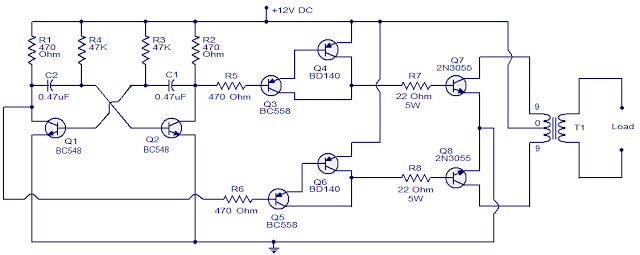 60W-inverter-using-transitors