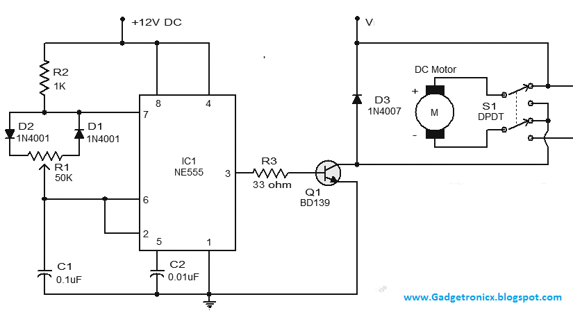 Controller circuits archives gadgetronicx for Dc motor driver ic