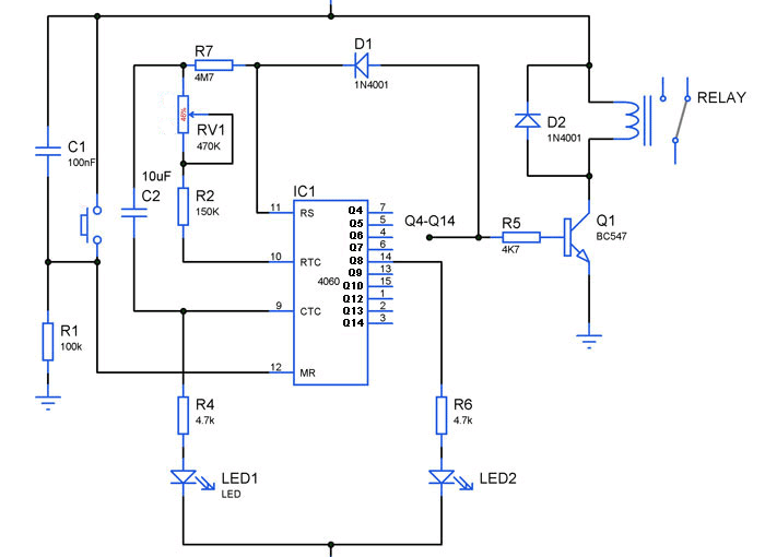 Timer Circuits Archives - Gadgetronicx