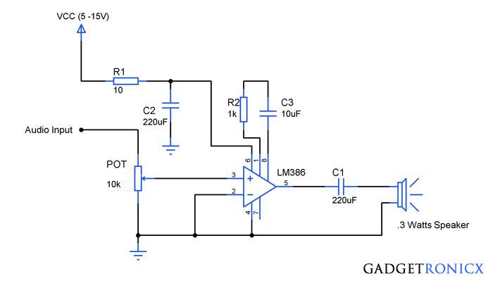 audio-amplifier-circuit-lm386