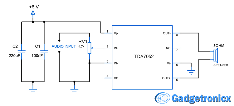 Digital   Schematic likewise Wiring Diagram For Battery Powered Headphones likewise Mini Audio Lifier Circuit Electronic together with 12v Wiring Schematic For Stereo With Subwoofer likewise Stereo Capacitor Wiring. on tda2822 stereo lifier circuit