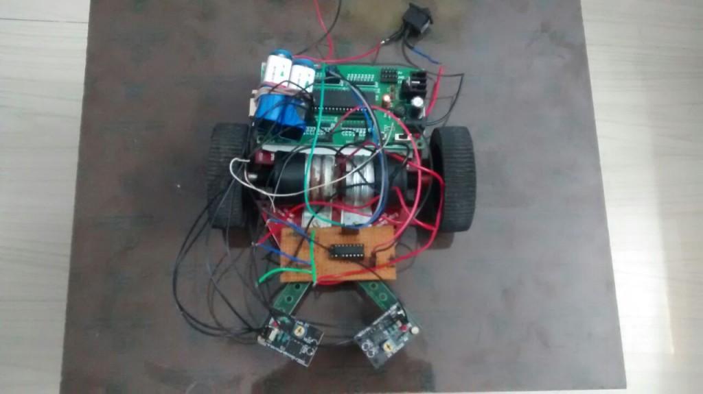 line-follower-robot-prototype-8051-microcontroller