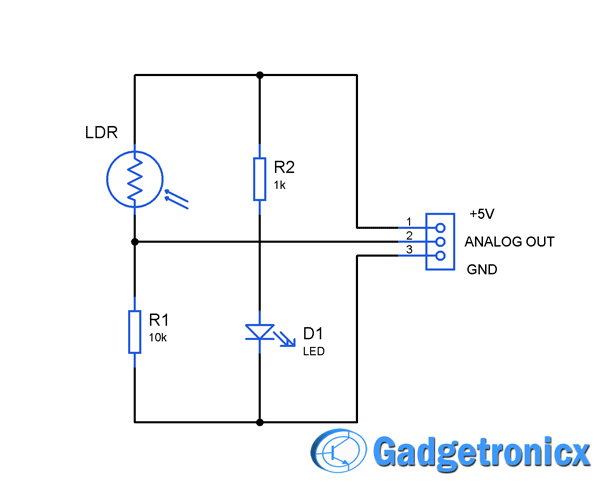 How to build a simple sensor module by your own - Gadgetronicx