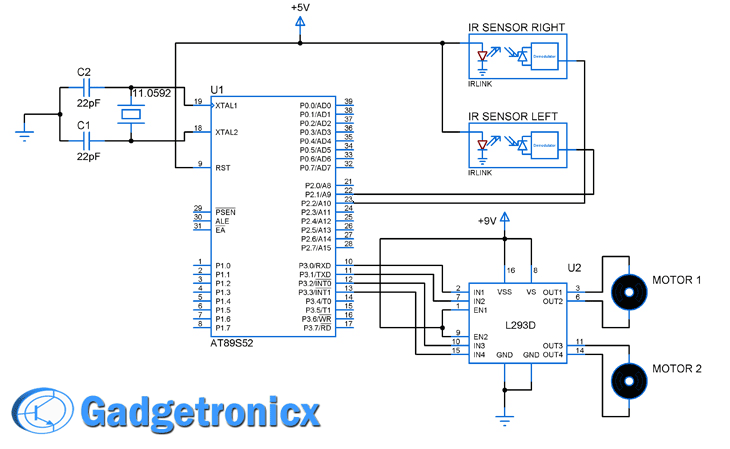 line-follower-robot-8051-microcontroller