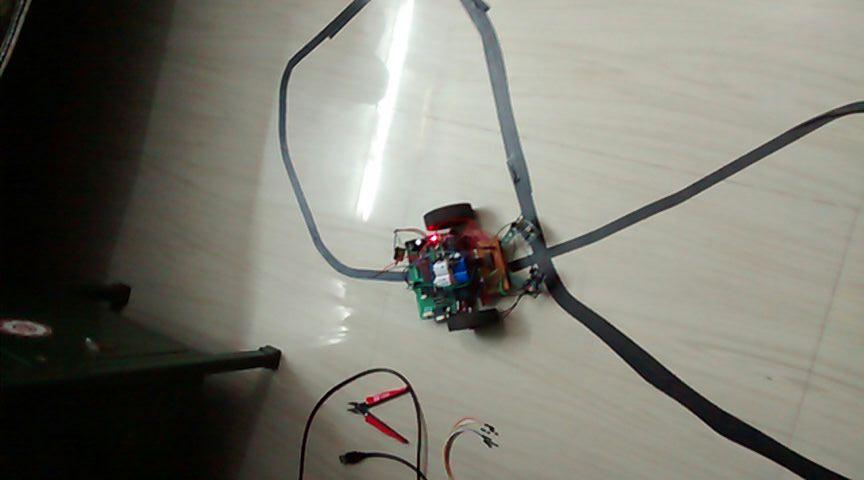 track-setup-line-follower-robot