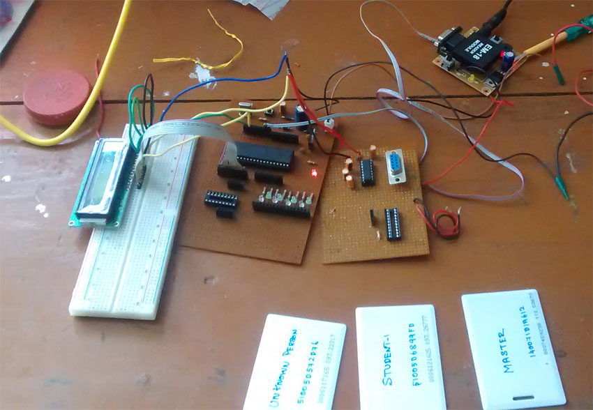 How to interface RFID with AVR ATmega32 microcontroller - Gadgetronicx