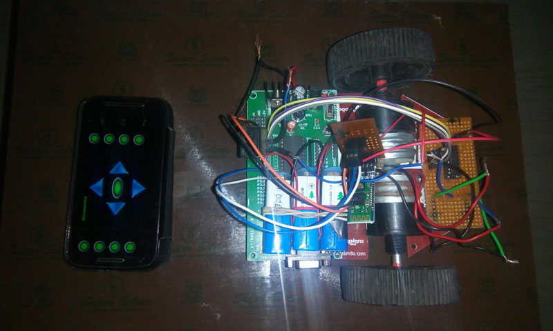 android-operated-wireless-robot