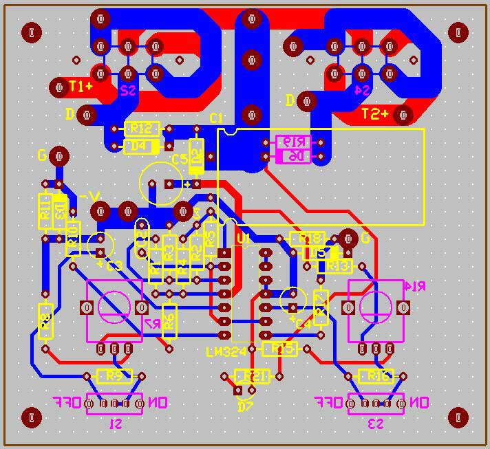 pcb-design-model-train-controller-circuit