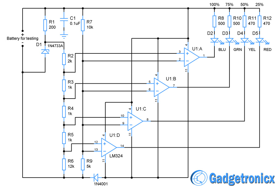 battery-charge-indicator-circuit-diagram-opamp