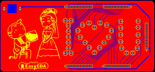 romantic-pcb-board-final-product