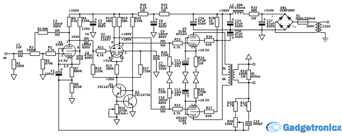hi-fi-amplifier-circuit-diagram