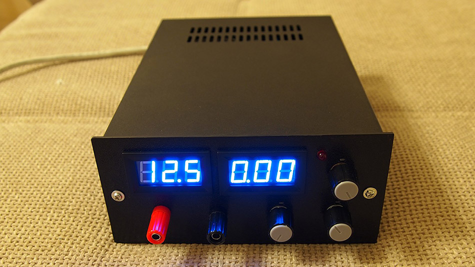 bench-top-power-supply-project