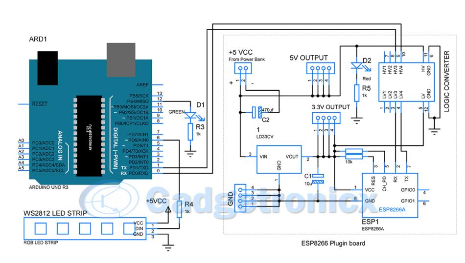 wifi-operated-RGB-light-painting-stick-arduino