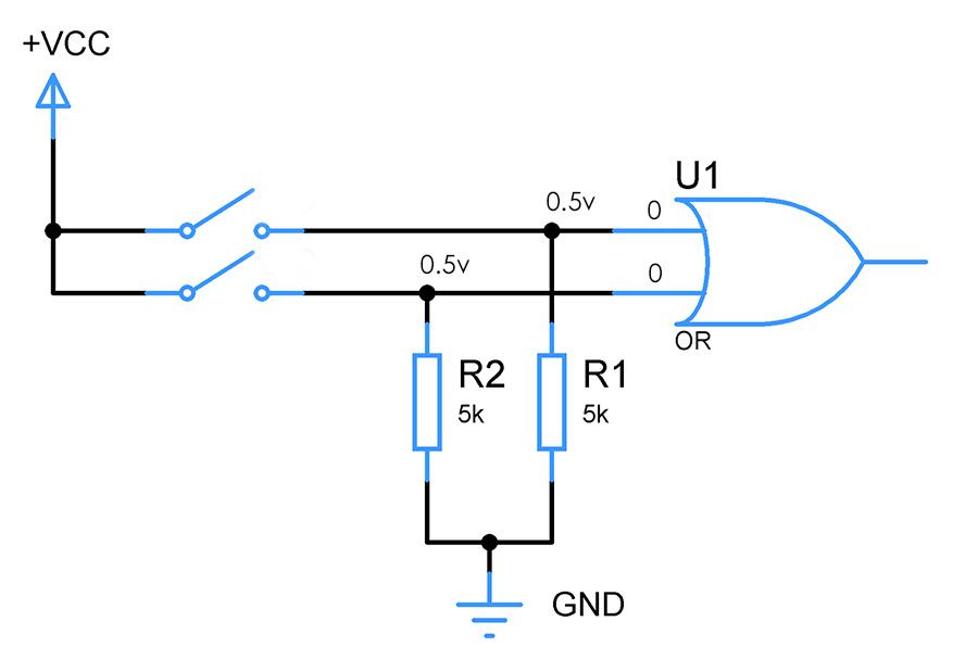 pull-down-resistor-values