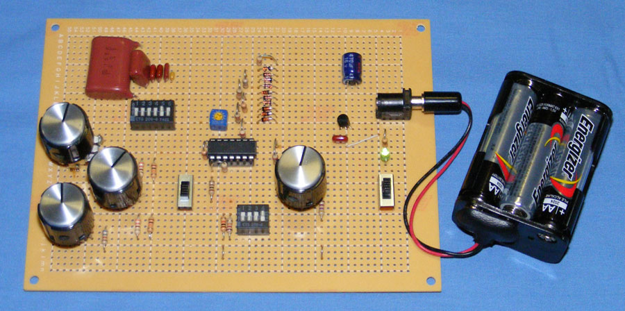 DIY Function generator circuit using Quad Op-Amp