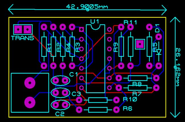 pcb-design-ultrasonic-receiver