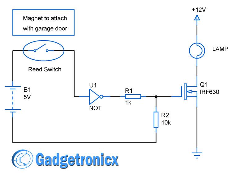 garage-lights-circuit-diagram