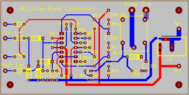 sump-pump-controller-pcb-design