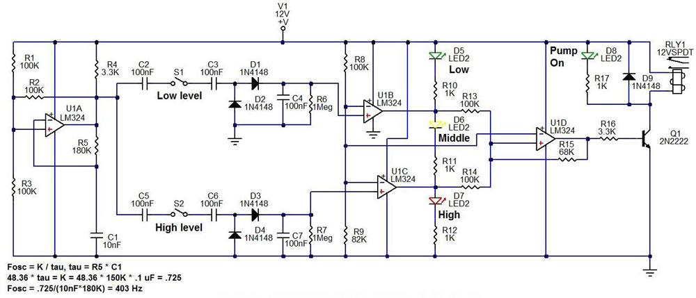 water-level-controller-circuit-diagram