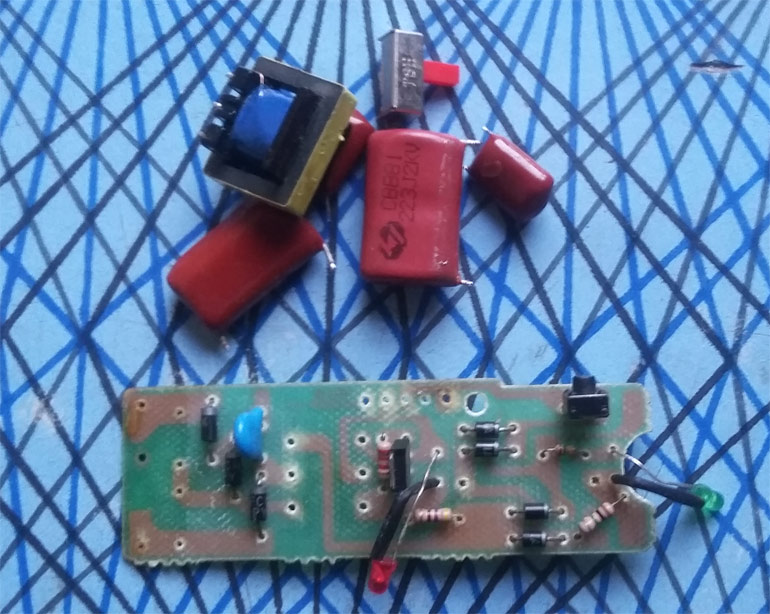 salvaged-electronic-components