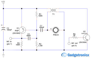 window-door-alarm circuit