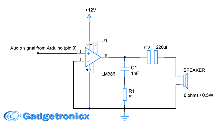lm386-amplifier-circuit-speaker