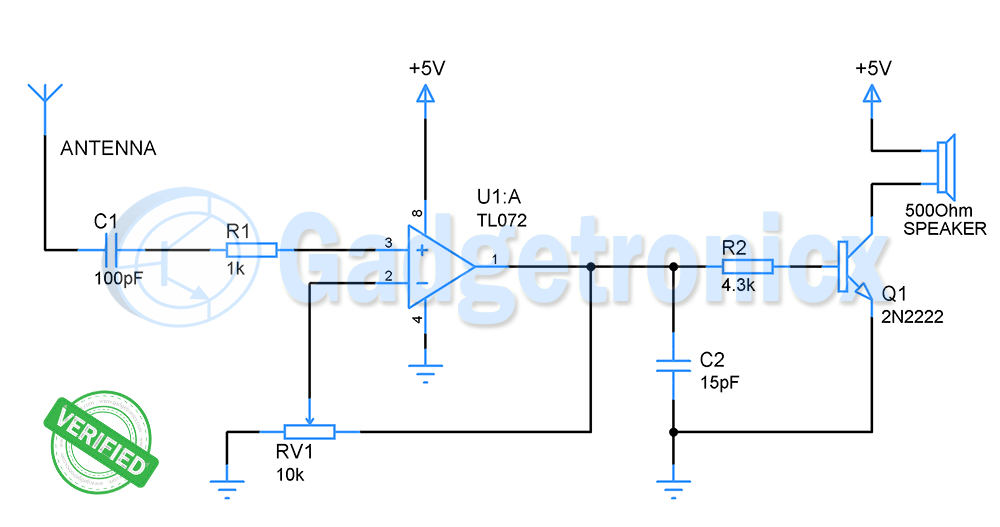 Super Cheap 2 Cable Tracer Circuit