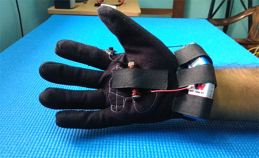 electromagnetic-glove