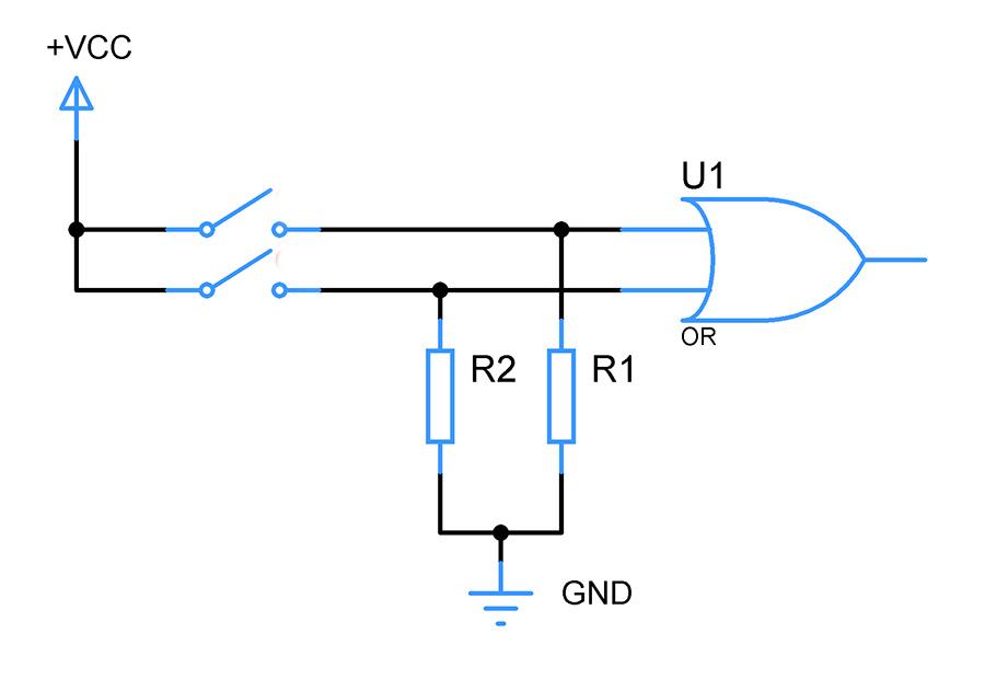pull-down-resistors