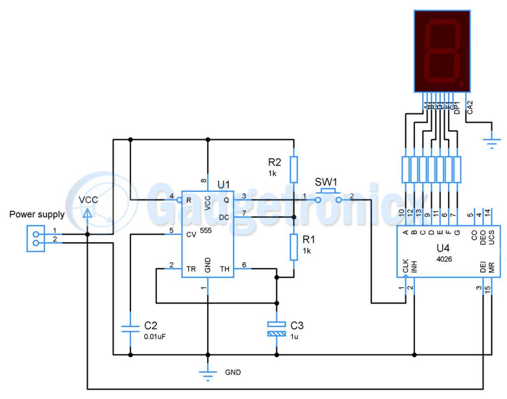 Random number generator circuit - Gadgetronicx