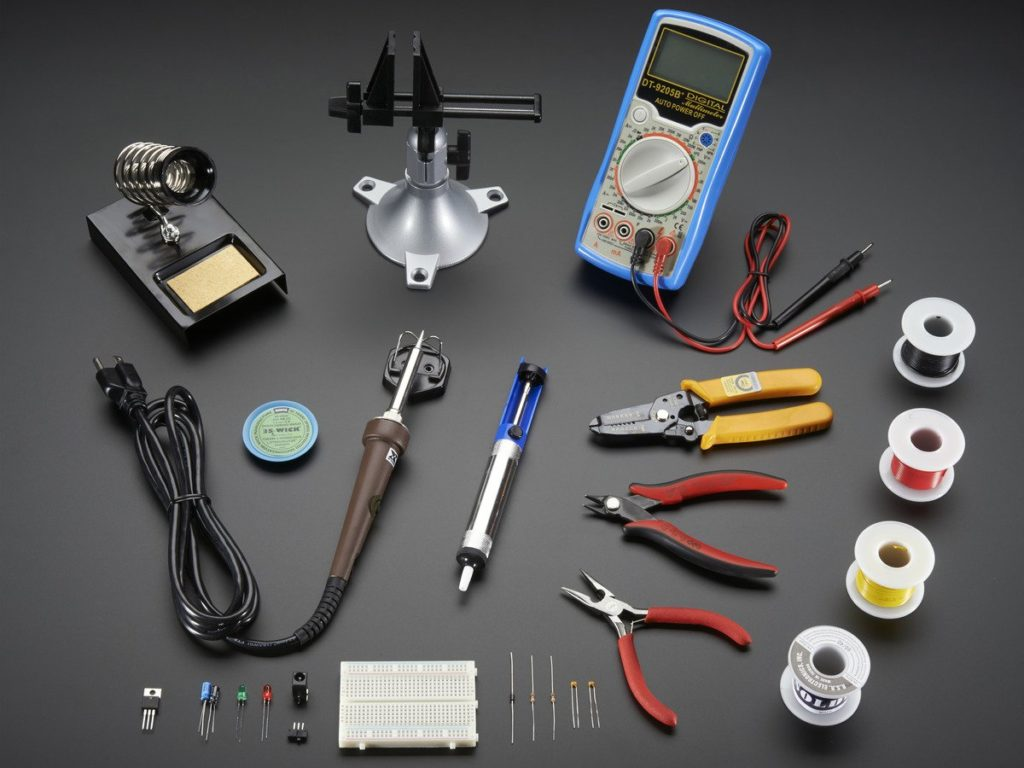 electronic-tools-equipment-workbench