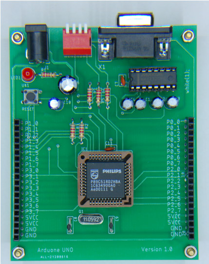 8051-development-board