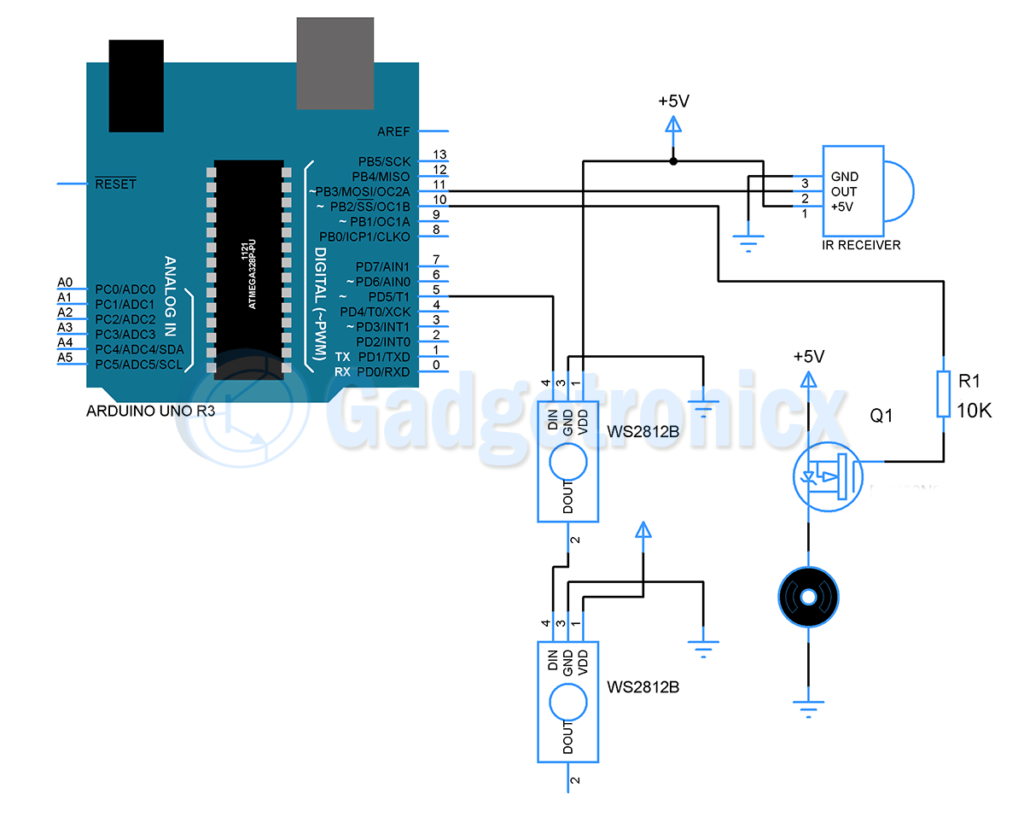Infrared Remote Control Transmitters Electronic Projects Circuits