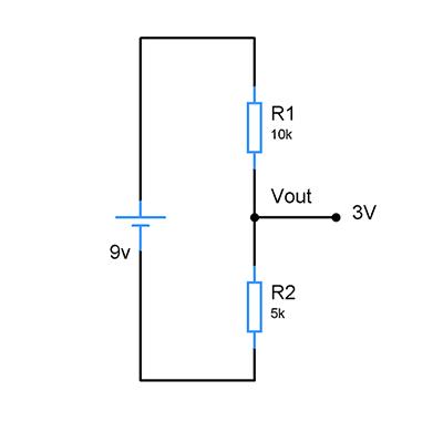 resistors-voltage-divider