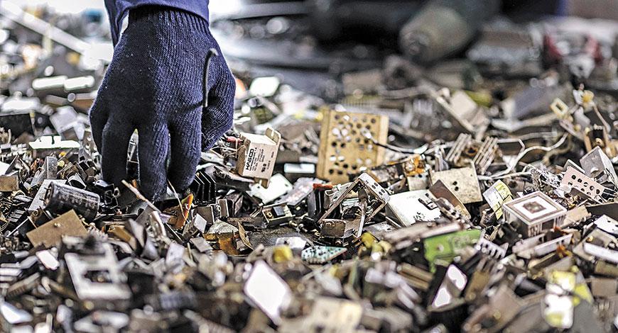 e-waste-dumped
