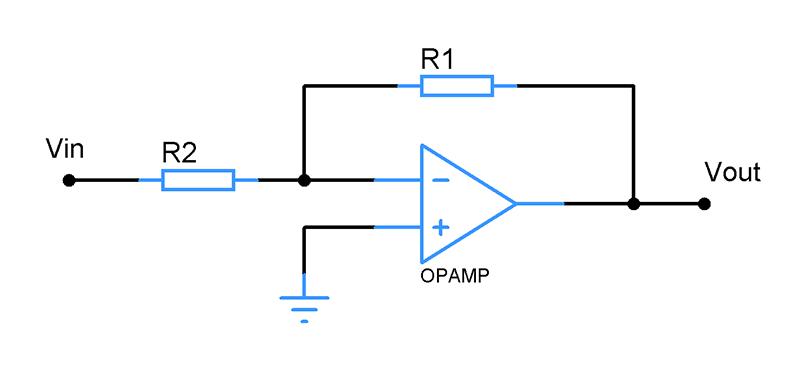 Opamp-Negative-feedback-configuration
