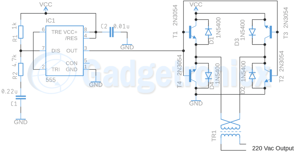 square-wave-inverter-circuit