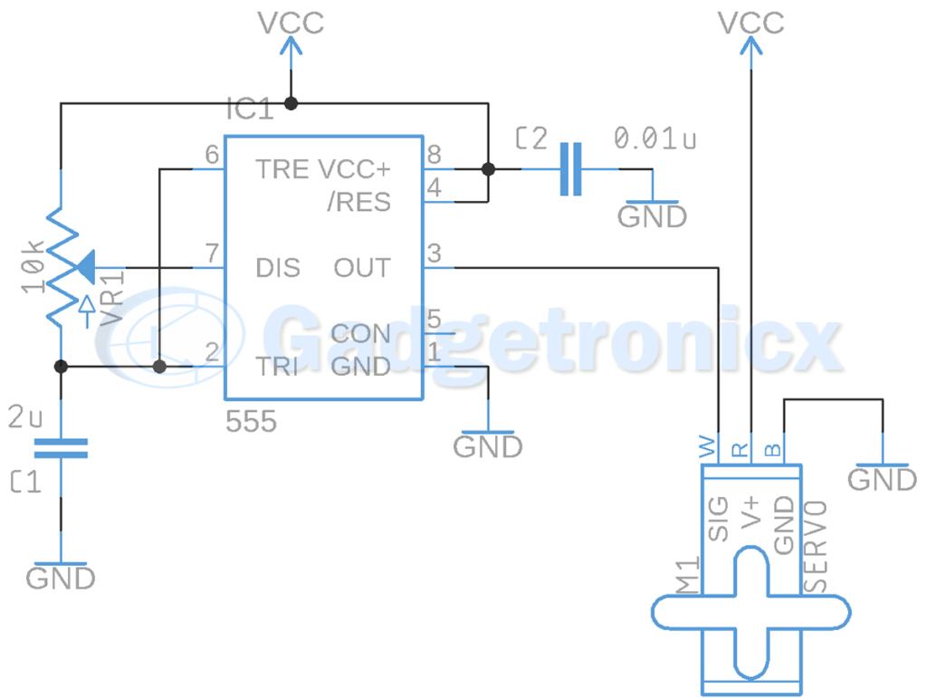 servo-motor-driver-circuit