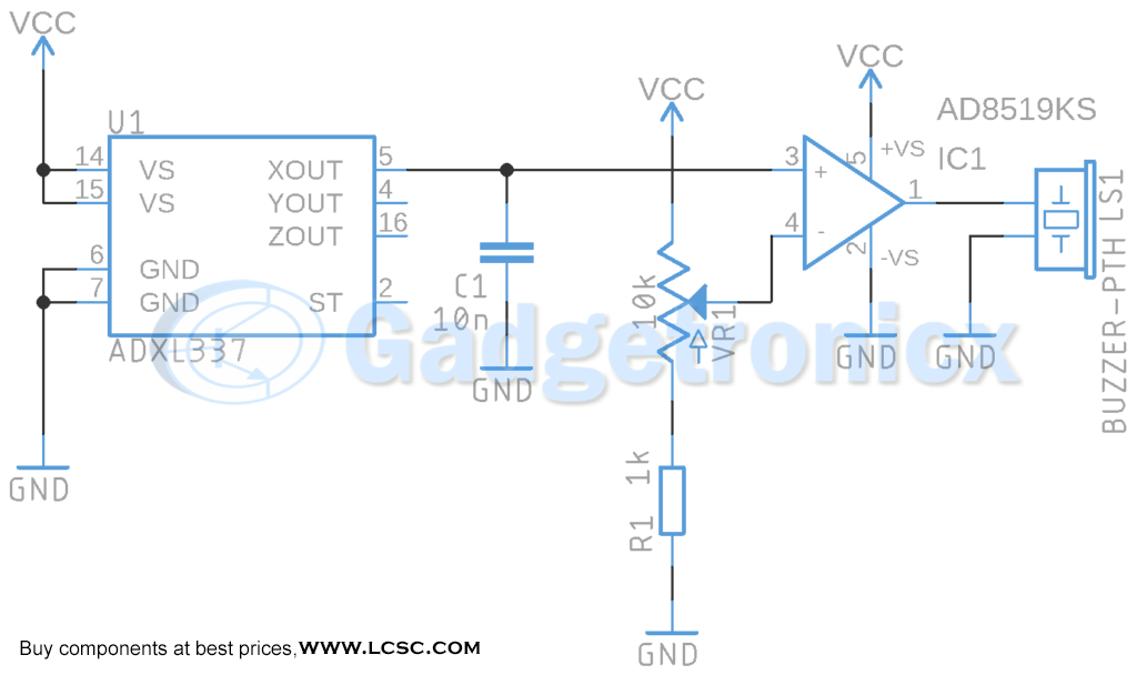 acceleration-sensor-circuit