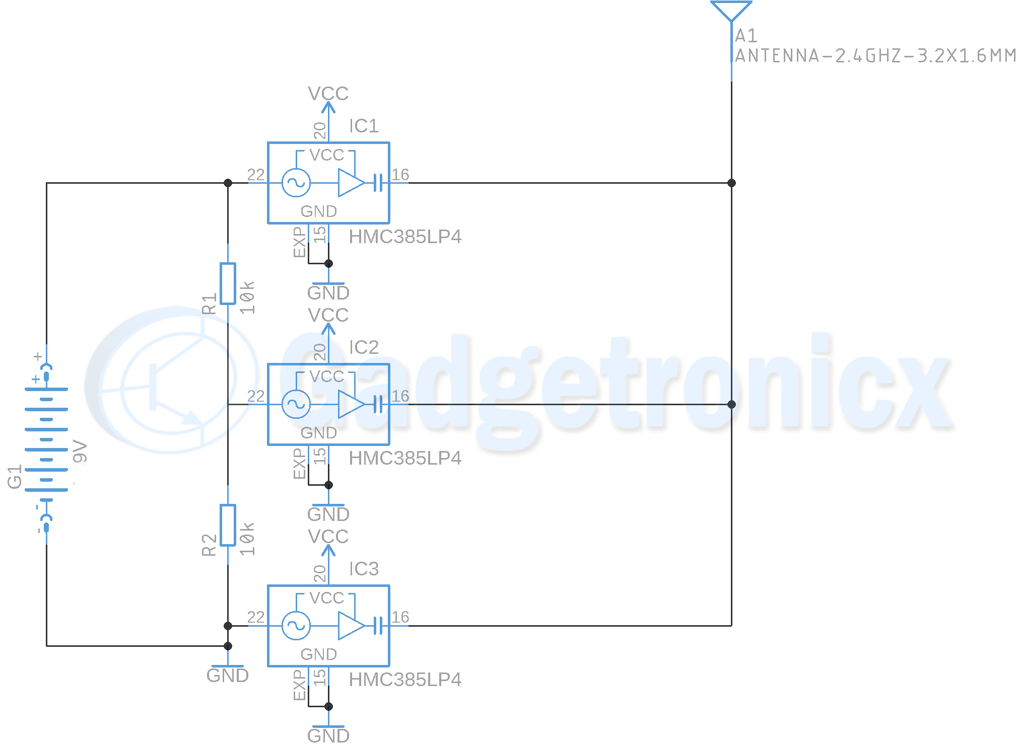Mobile Jammer Circuit Diagram Pcb Layout - Circuit Boards